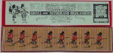 Pre-War BRITAINS 1930s Lead, Argyll & Sutherland Highlanders, 8 Pc Boxed Set #15