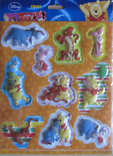 Winnie the Pooh/Pooh * 3d pegatinas * 10 unidades * aprox. 4-8 cm de alto * Disney * nuevo * OVP