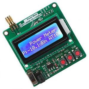 Digital RF Power Meter Detector ‑75‑+16dBm Ultra‑Small LCD Auto Backlight