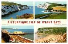 Postcard -   ISLE OF WIGHT BAYS       ( Ref B17)