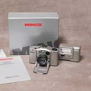 MINOX GT-S Set - 35mm compact camera - Minty Condition