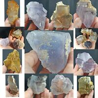 Amazing Cubic Fluorite Crystals/Specimens from Loralai/Baluchistan 18pcs