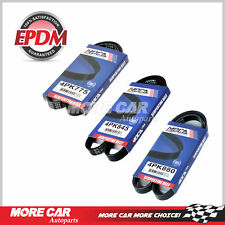 EPDM Fit Honda Civic si 99-00 3PC Belt Kit -Alt-AC-PS 4PK775-4PK845-4P880