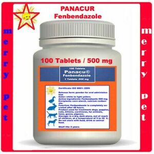 ✅ DEWORM PANACU® PANACUR 100 TABLETS -  500 mg