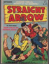 STRAIGHT ARROW #20 AUSTRALIA ED 09/56 RADIO WESTERN HERO B/W REPRINT TALES VG/FN