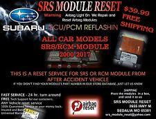 2008- 2016 SUBARU REPAIR ODS MODULE   CODE 29 or B1650 98321AJ01B  98321AJ00B