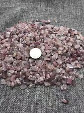 Natural Strawberry crystal gravel polishing stone fish tank decoration 2.2lb