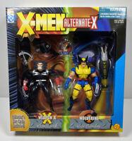 X-Men Alternate-X Weapon X and Wolverine 1996 Toy Biz Action Figures NIB
