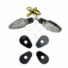 Compass Stalk Turn Signal LED For Yamaha YZF R6 R1 R3 LED Light Blinker Black