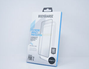 BodyGuardz PURE 2 Tempered Glass Screen Protector for LG Stylo 4+ PLUS New