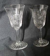 Cristal St LOUIS signé Service de 18 verres à eau et vin