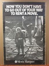 vintage  movie goer movie Marquee original 1987 Poster  7521