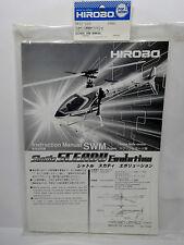 Hirobo 0412-228 Sceadu Evo Bauanleitung SWM (CCPM) INSTRUCTION MANUAL