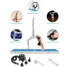 10/13 FT Air track Inflatable Floor Home Gymnastics Tumbling Yoga Mat GYM +Pump