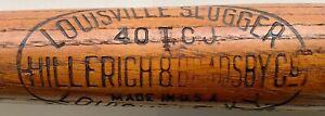 "Antique ""Ty Cobb"" Louisville Slugger Youth Baseball Bat"