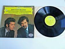 Brahms Sonatas No.2 No.3 Zuckerman Barenboim Vinyl Record LP Deutsche Grammophon