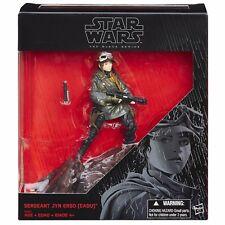 "Star Wars Black Series Rogue One Sergeant Jyn Erso Figure  6"" KMART EXCLUSIVE"