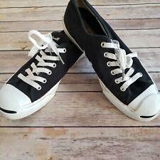 Converse Jack Parcell Sneaker Canvas 1Q699 Black White Men 7 Women 8.5