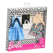 Barbie: Blue and Floral Outfits - Combo Fashion Pack by Mattel, Inc.