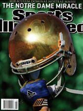 Sports Illustrated Magazine November 26, 2012 football NOTRE DAME FIGHTING IRISH
