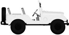 Jeep Universal White by arwico, H0 Car Model 1:87, Brekina 58902