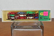 Minitrix N Scale Railroad Train Southern Pacific Auto Transport 3152