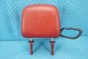Dodge Challenger Front Driver Headrest Leather Red 1VL80DW1AA 2008-2014 OEM