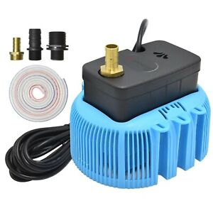 Swimming Pool Cover Pump 850 GPH Submersible Sump Pumps Above Ground with 3 A...