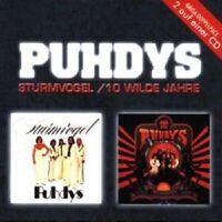 "PUHDYS ""STURMVOGEL/10 WILDE JAHRE"" CD NEUWARE"