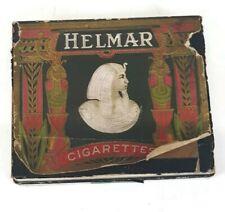 Vintage Helmar Cigarette Box w Stamp