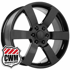 22 inch OE Performance 165GB Chevy Trailblazer SS Black Wheels Rims 6x127 6x5.00