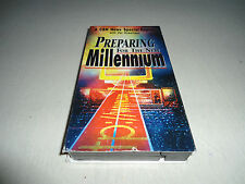Tested ! Preparing for the New Millennium Vhs Pat Robertson 2000 News Cbn Tape