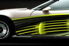 RACE CAR GRAPHICS Vinyl Decal IMCA Late Model Trailer Racing Side Stripes
