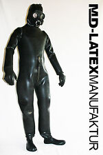 MD-Latex gasdichter * Latex Protection Costume 4,0 mm fortement