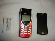 Genuine Nokia 8210 MOBILE UNLOCKED, GENUINE FASCIA, RED, GRADE A