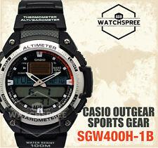 Casio Outgear Sports Gear Series Twin Sensor Watch SGW400H-1B