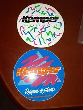 Kemper Snowboards Stickers Vintage 80s 90s Lot Of 2