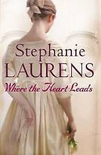 Where the Heart Leads (Bar Cynster Series), Stephanie Laurens | Paperback Book |