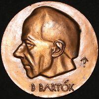 Bela Bartok 'Hungarian Composer & Pianist' Medal | Bronze | Medals | KM Coins