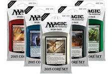 Magic 2015 / M15 Intro Pack Set of Five all Five Decks - ENGLISH New ABUGames