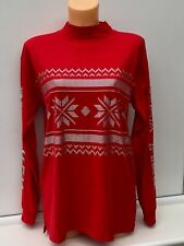 Victoria's Secret PINK Christmas 'New York' Red Sweatshirt Size Small BNWT
