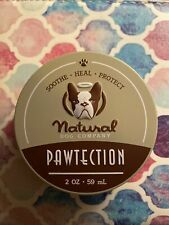 New listing New! Natural Dog Company Pawtection Wax Barrier 2 oz Tin Paw Tection
