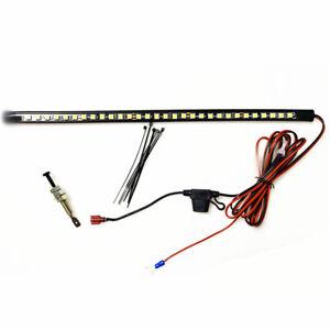 36cm Under Hood Light Bar Kit White LED Panels 12V Fit For Car Engine Repair