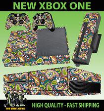 XBOX ONE CONSOLE STICKER PRETTY GREEN LIAM GALLAGHER OASIS SKIN & 2 PAD SKINS