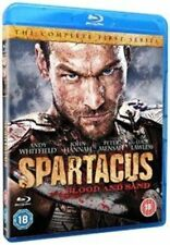 Spartacus Blood and Sand Season 1 Blu-ray by Andy Whitfield Lucy Lawless.