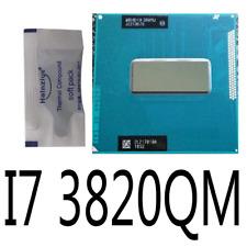Intel Core i7-3820QM Quad Core 2.7GHz 8MB SR0MJ Mobile CPU Processor