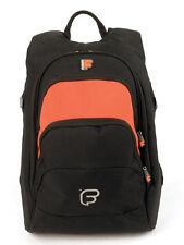 """Fusion F1 Laptop Backpack Orange -  w/15"""" Laptop Sleeve Fuse-on"""