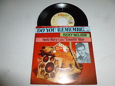 "RICKY NELSON - Hello Mary Lou - 1961 Duych 2-track 7"" vinyl single"