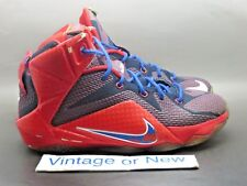 Nike LeBron XII 12 Superman GS sz 6Y