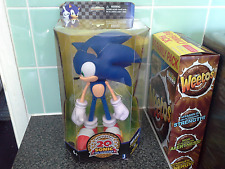 Sonic The Hedgehog 20th Anniversary 10inch2011 boxed RARE deluxe figure.